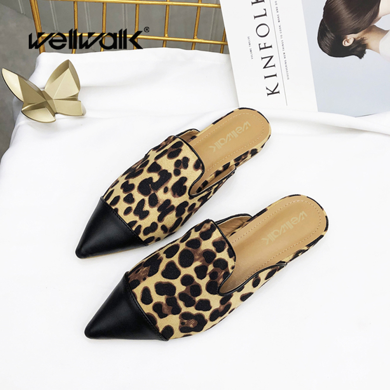 ce73e299592 Wellwalk-Dress-Woman-Shoes-Leopard-Slippers-Female-Flat -Slides-Fashion-Mules-Women-Shoes-Pointed-Toe-Design.jpg