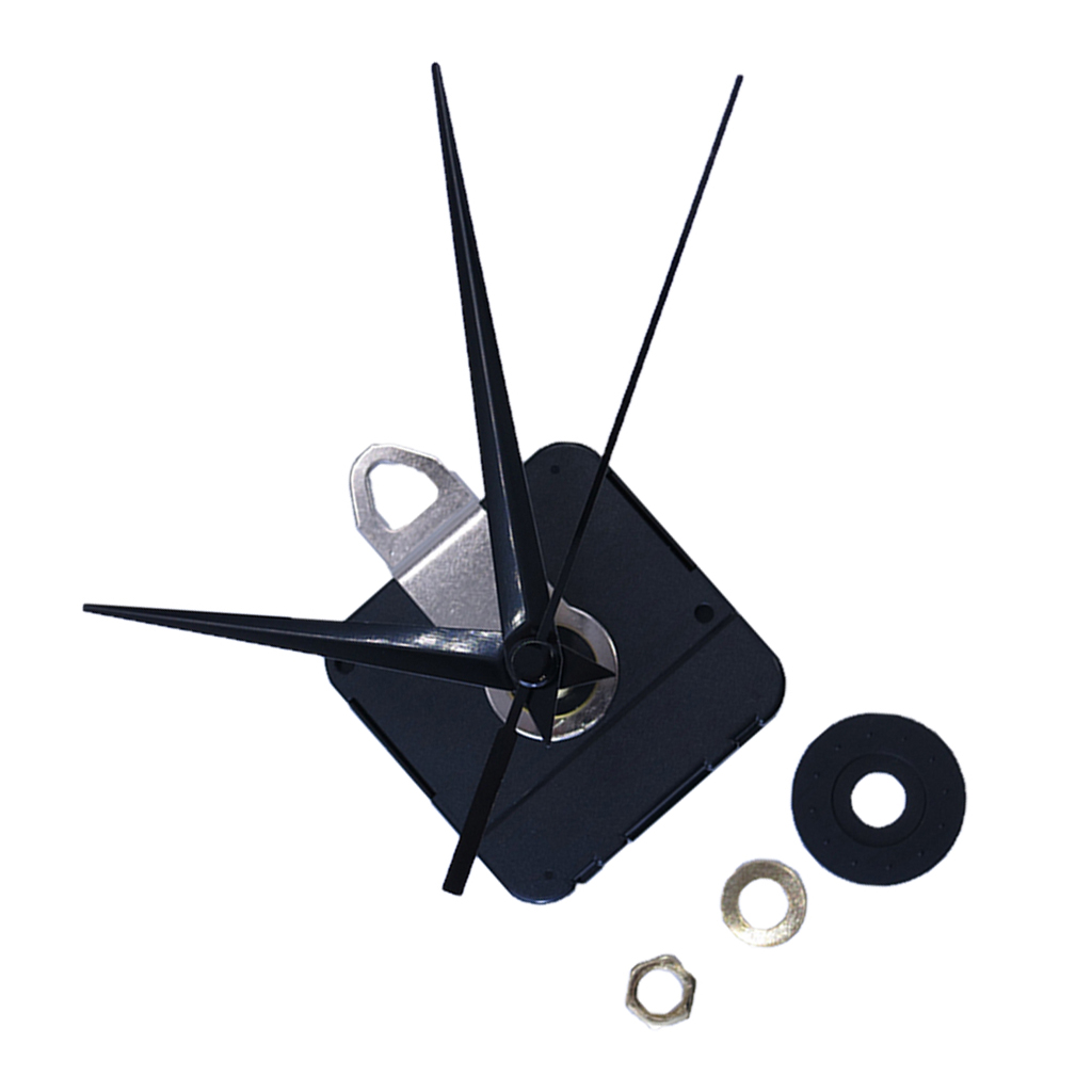 MagiDeal Axis Length 28mm Quartz Wall Clock Movement With Metal Hook Pointer