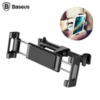 Baseus Banquette Arrière de Voiture D'appui-Tête Titulaire Mont Pour Téléphone Mobile iPad Tablet 4.7 à 12.9 pouce 360 Degrés Support Voiture Banquette Arrière De Montage
