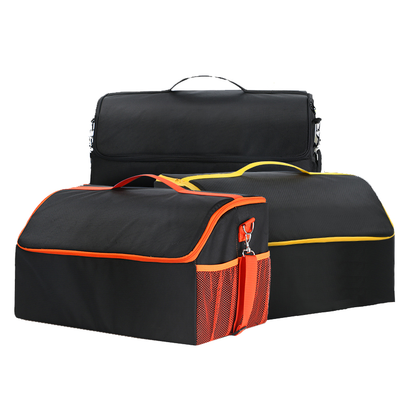 Auto Accessories Stowing Tidying Waterproof Collapsible Car Trunk Organizer Oxford Foldable Car Trunk Storage Box for Picnic