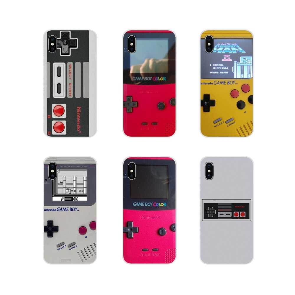 For Motorola Moto X4 E4 E5 G5 G5S G6 Z Z2 Z3 G3 G2 C Play Plus Accessories Phone Cases Covers Gameboy Game Boy PSP Game Box