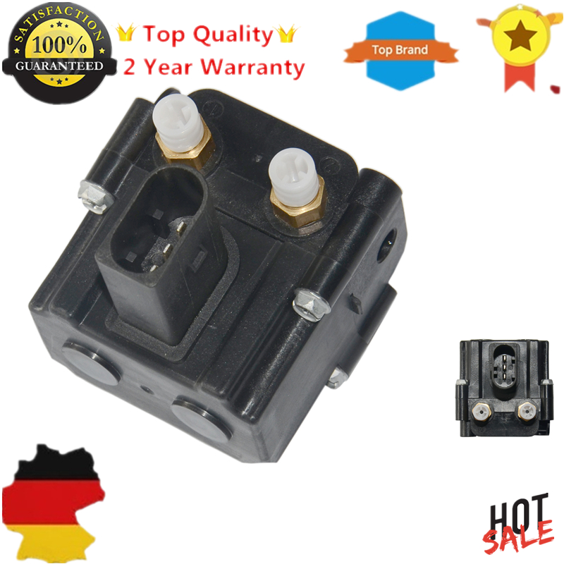 New Air Suspension Solenoid Valve Block 37206789937 37206789938 For BMW 5 E61 X5 E70 X6 E71 E72 520 523 525 530 535 545 new rotation solenoid valve kwe5k 31 g24ya50 for excavator sk200 6e