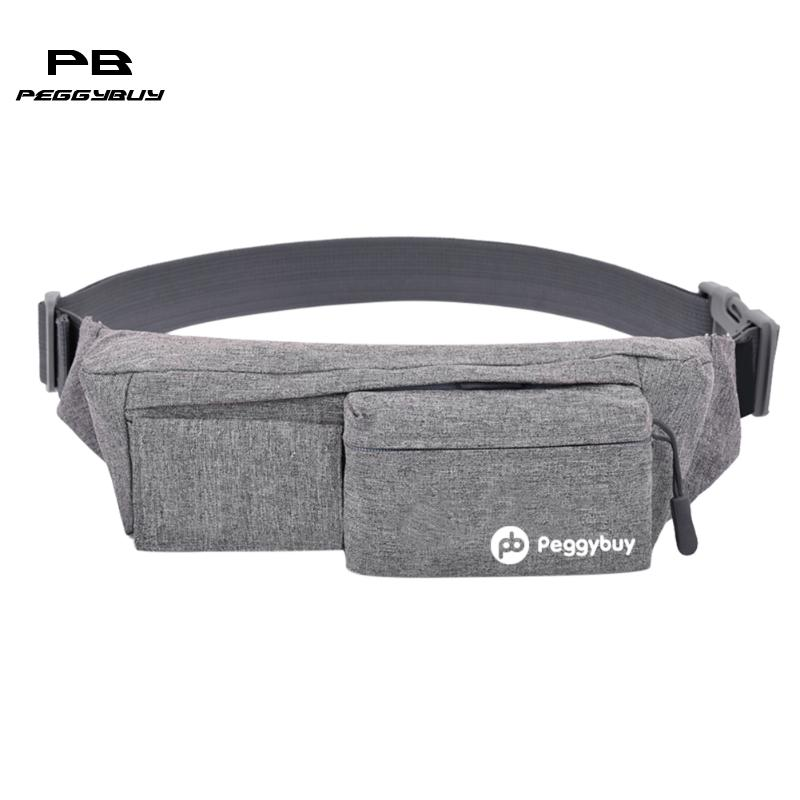 New Men Waist Pack Canvas Bags Multi-functional Waist Bag Casul Style National Leisure Crossbody Shoulder Cross Body Chest Bag outdoor leisure waist bag black
