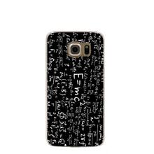11664 physics mathematics formula cell phone case cover for Samsung Galaxy S7 edge PLUS S6 S5 S4 S3 MINI