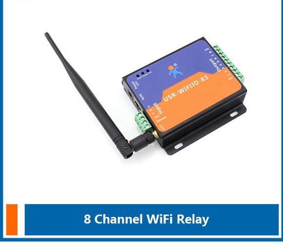 ФОТО 8 door and gate output WIFI Relay access controller board/wifi control module controller Support Android and IOS APP