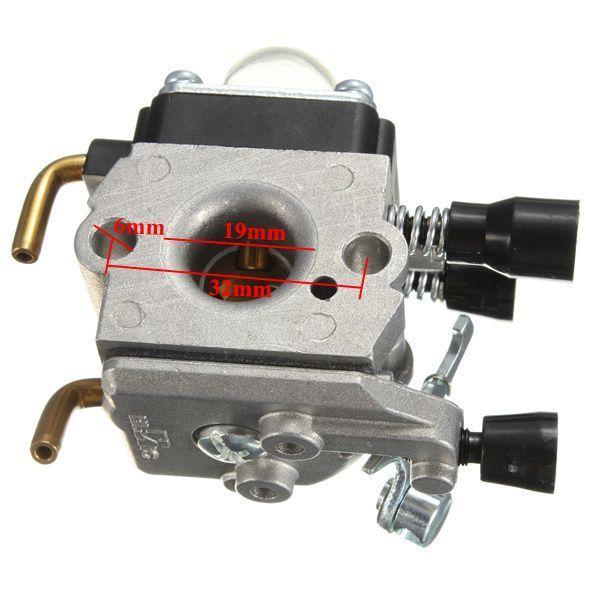 Vergaser passend für STIHL FS38 FS45 FS46 FS46C FS55RC KM55R C1Q-S186A C1Q-S143