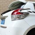 ABS хром для Toyota Yaris 2014 Аксессуары для автомобиля Стайлинг автомобиля задний фонарь крышка Накладка