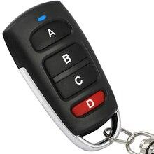 جديد 433 ميجا هرتز العالمي سيارة مفتاح تحكم عن بعد الذكية باب جراج كهربائي استبدال استنساخ استنساخ نسخة عن بعد