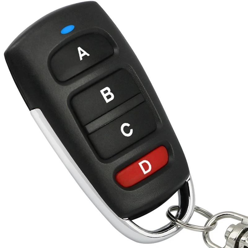 New 433mhz Universal Car Remote Control Key Smart Electric Garage Door Replacement Cloning Cloner Copy Remote Remote Controls Aliexpress