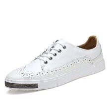 Мужчины натуральная Кожа Повседневная Обувь Мода Люксового Бренда Мужской Обуви удобные Квартиры Оксфорды Бизнес акцентом Обувь