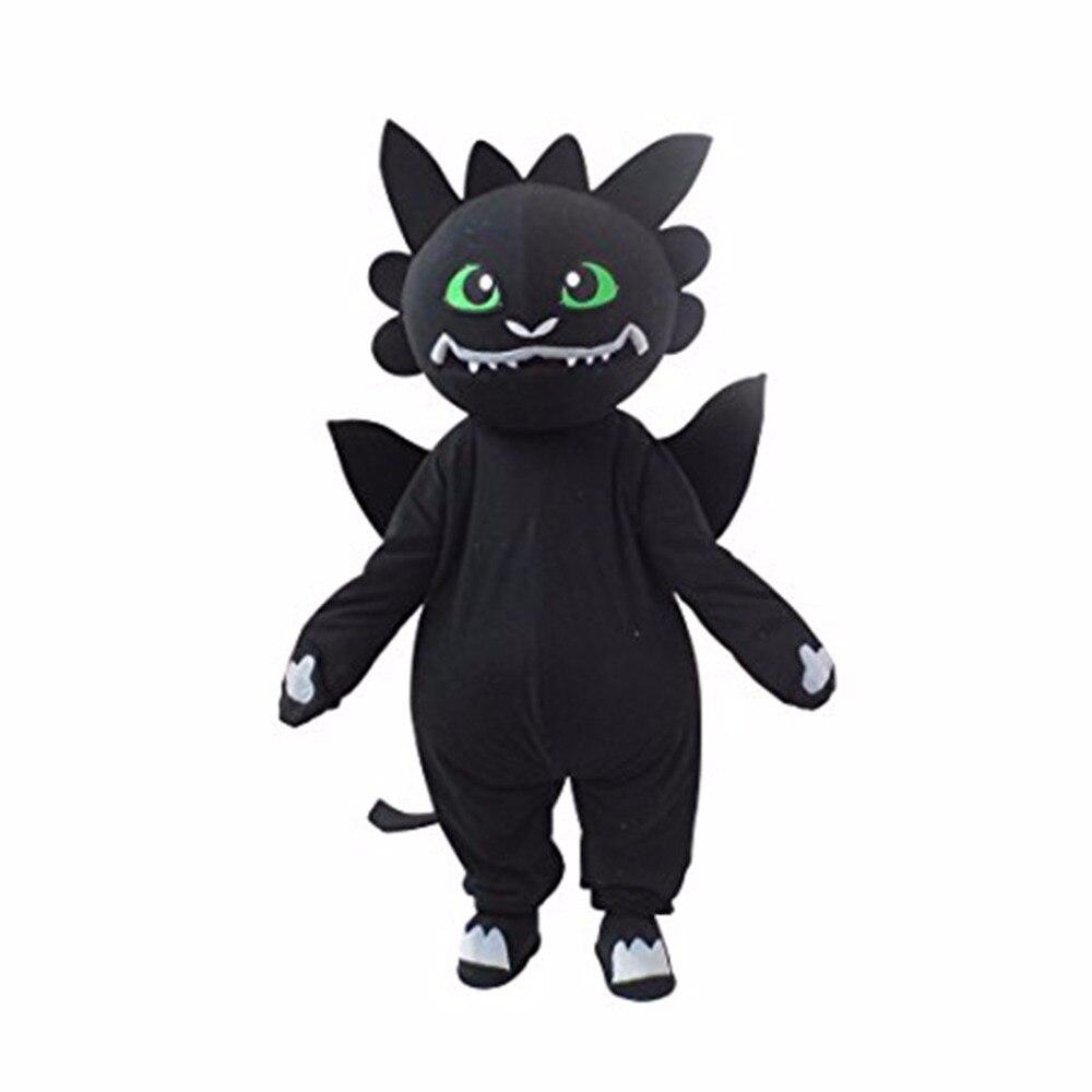 Cosplaydiy Custom Made Plush Dragon Mascot Costume How to Train Your Dragon Mascot for Christmas L0713