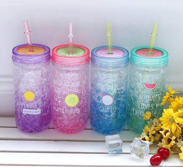 Summer Fresh and Lovely Crushed Ice Water Bottle