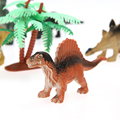 12 Pçs/lote Bebê Toy Figuras de Ação Conjunto de Brinquedo Dinossauro Animal Inseto Modelo Animal Dinossauro Figuras Crianças Brinquedos