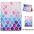 Color Lattice Pattern PU Leather Full Body Case with Stand for iPad mini 1 2 3