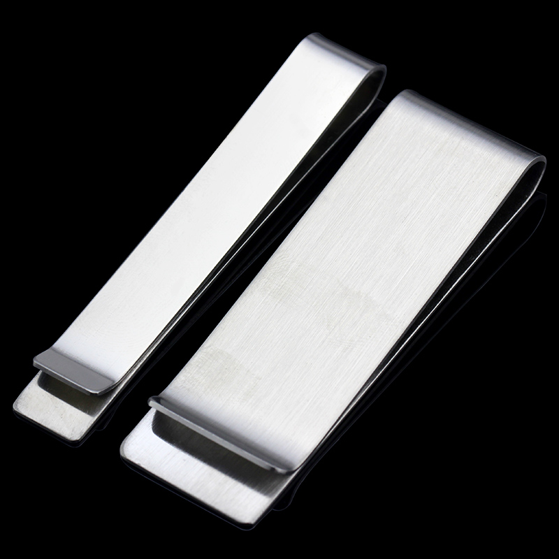 MMS 2Size Of  REal 316L Stainless Steel Tie Clip Casual Style Exquisite Wedding Tie Clips Men Tie Bar