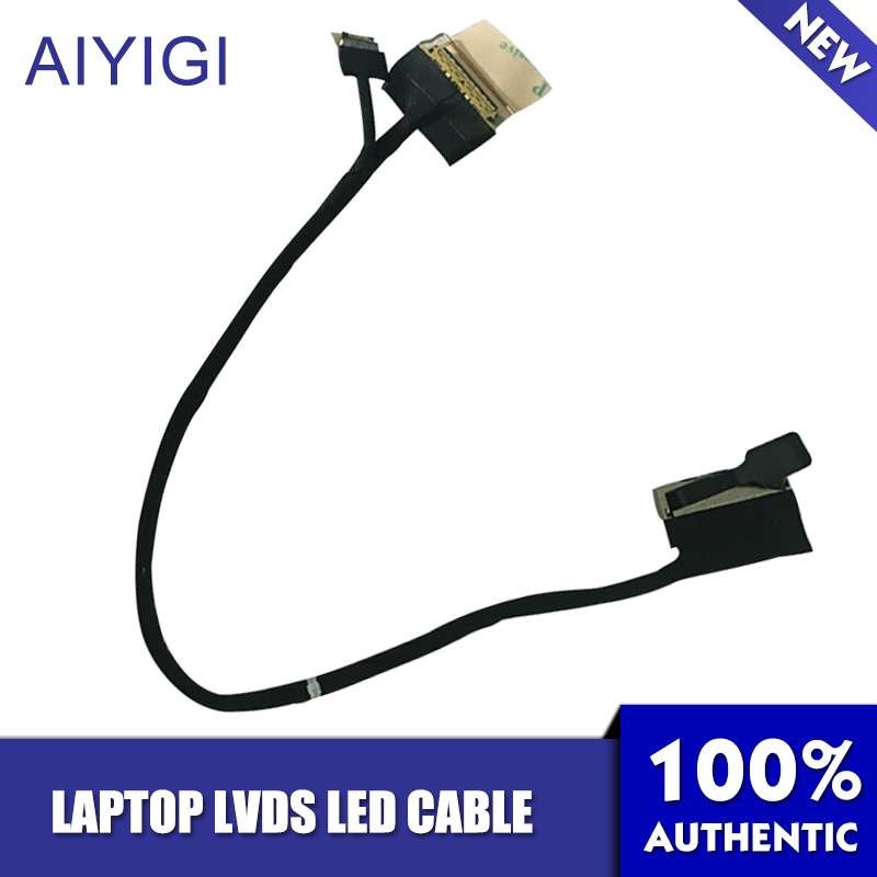 AIYIGI New LVDS LED Cable For Lenovo Yoga 260 Laptop Video Screen LCD LVDS Cable AIZS1 EDP Cable DC02C00BF00 image