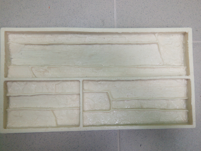 New Polyurethane Molds model 2018 year for Concrete Plaster Wall Stone Cement Tiles Slate 1 Decorative