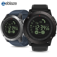 Hot Zeblaze VIBE 3 Flagship Rugged Smartwatch 33-month Standby Time 24h All-Weather Monitoring Smart Watch For IOS Android Watch