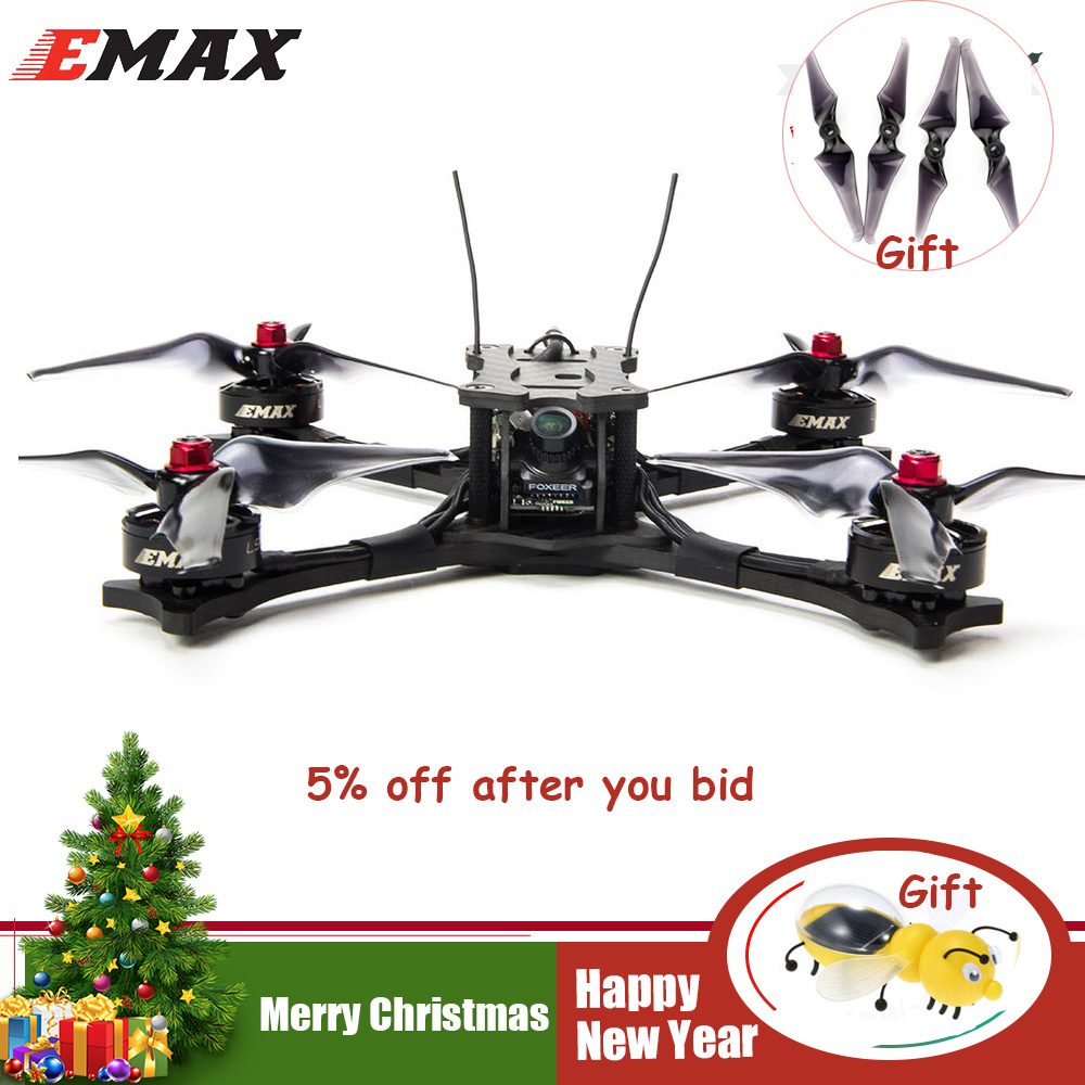 Emax Faucon 5 5 pouce FPV RACING DRONE-BNF (FRSKY XM +) RC RC Quadcopter FPV Racing Caméra Drone