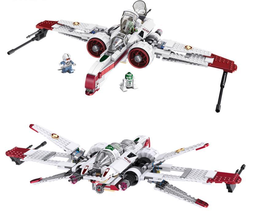 Star Wars Space Battle Captain Jag Clone Pilot R4-P44 ARC-170 Fighter Assembled   Building Blocks toys for childrenStar Wars Space Battle Captain Jag Clone Pilot R4-P44 ARC-170 Fighter Assembled   Building Blocks toys for children