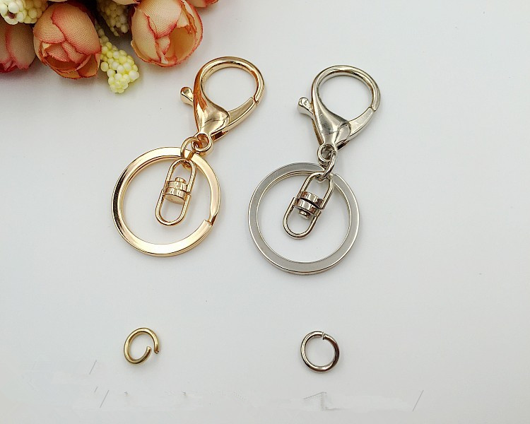 DIY Keychain Accessories Metal Keychain Handmade Accessories Lobster Keychain Hardware Accessories
