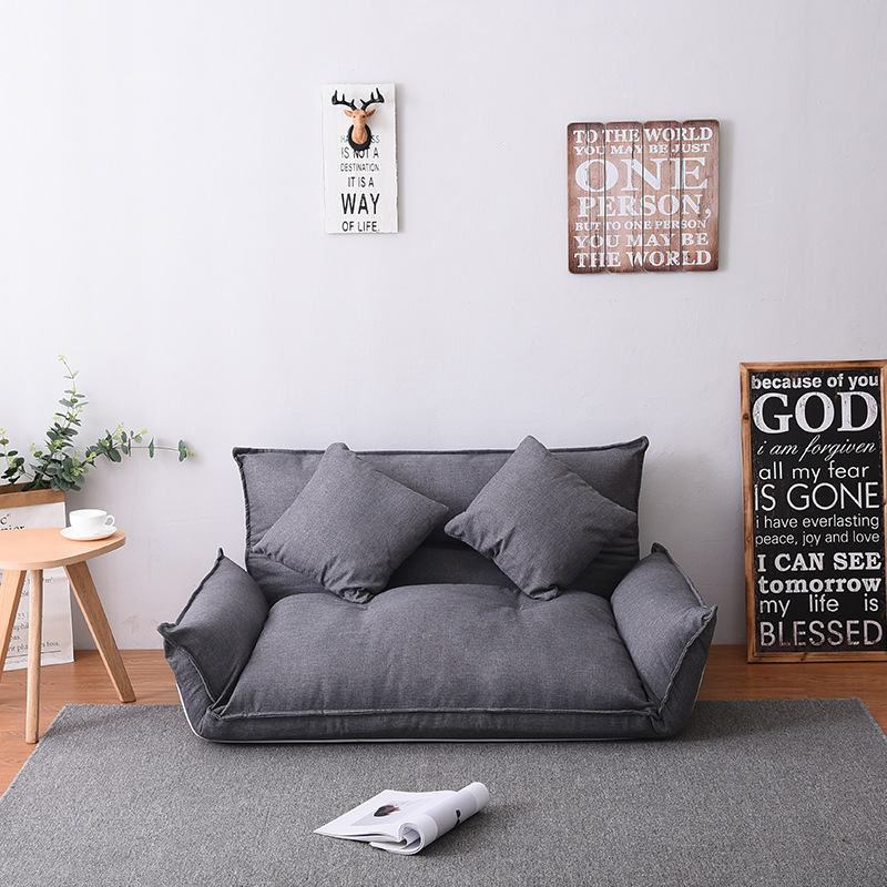 Modern Design Floor Sofa Bed Lazy Sofa Japanese Style Furniture Living Room Reclining Folding Sofa Couch
