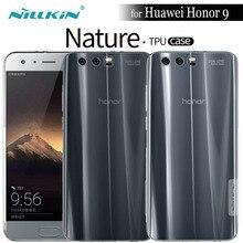 Nilkin Capa for Huawei Honor 10 / 9 / 9 Lite Case Nillkin Clear Transparent Soft TPU Phone Bag Back Cover for Huawei Honor 10