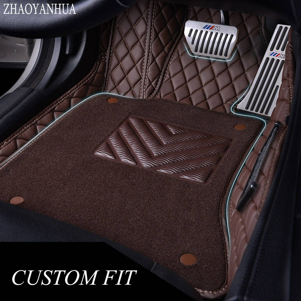 ZHAOYANHUA Car floor mats for Infiniti M Y50 Y51 Q70 Q70L M25 M35 M35H M37 M37X M56 M25L M30D 5D car styling liners rugs (2006 )