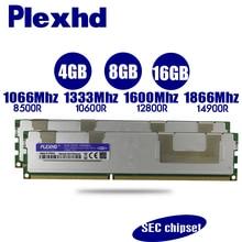 PLEXHD 4 GB 8 GB 16 GB DDR3 PC3 1066 МГц 1333 МГц, 1600 МГц, 1866 МГц памяти сервера X79 X58 2011 LGA2011 ECC REG 14900 12800 10600 Оперативная память