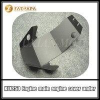 Аксессуары для мотоциклов Модификация деталей под крышку двигателя подходит для Kawasaki KLX250 KLX 250 защита двигателя