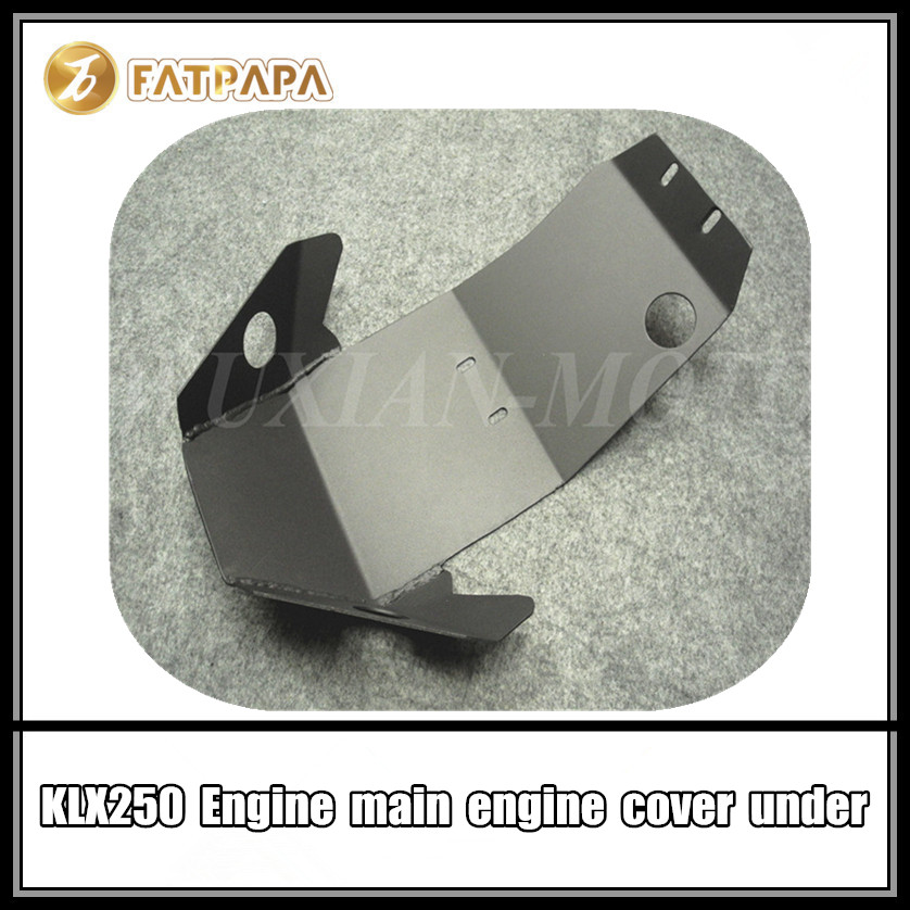 Accessoires de moto pièces de modification sous le couvercle du moteur adapté pour Kawasaki KLX250 KLX 250 garde-moteur