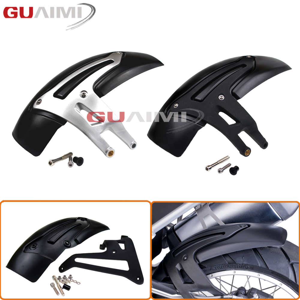 For BMW R1200GS LC 2013-2016, R1200GS Adventure 2014-2016 Motorcycle Rear Hugger Fender Mudguard Mudflap Mud Flap Splash Guard for bmw r1200gs lc adventure 2013 2014 2015 2016 motorcycle rear fender mudguard wheel hugger splash guard