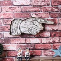 Life LED Light Sign Vintage Home Decor Wall Hanging Ornament House Bar Decoration Placas Metal Plaque