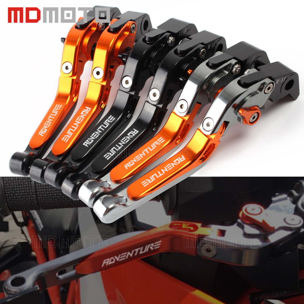 Motorcycle adjustable Clutch Brake Levers clutch lever For KTM Super Adventure 1290 S T R 1290S 1290T 1290R 1090 Adventure 1050