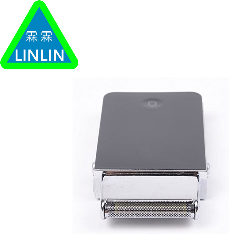 LINLIN Mini Men Electric Shaver Rechargeable Stainless steel Reciprocating <font><b>single</b></font> blade Razor Face TrimmerWholesale Razor Blade