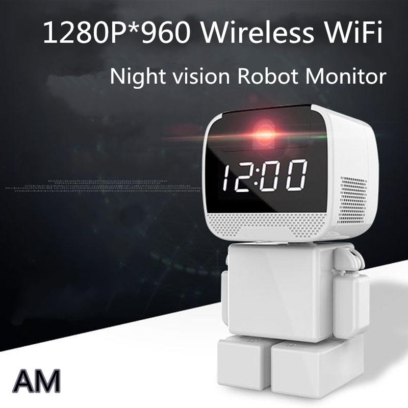 bilder für Wifi Wireless Smart Home 960 HD Kamera Mini remote Roboter Monitor Smart Home Gateway Controller Detektor baba eletronical Kindermädchen