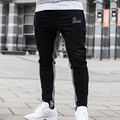 Fitness Men Spring Clothing Thin Gyms Bodybuilding Pants Casual Trousers Full Length Cotton Sweatpants Lightweight Pants