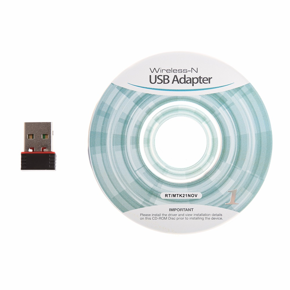 Mini 150Mbps USB2.0 WiFi Network Lan Card Wireless Adapter 802.11n/g/b Black