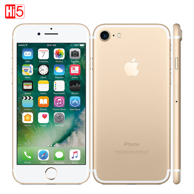 Оригинальный Apple iPhone 7/7 Плюс 2 ГБ ОЗУ 32/128 ГБ/256 ГБ IOS 10 LTE 12.0MP Камера Quad-Core Отпечатков Пальцев 12MP Сотовых Телефонов