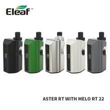 100%เดิมบุหรี่อิเล็กทรอนิกส์Eleaf ASTER RTที่มีMELO RT 22ชุด100วัตต์4400มิลลิแอมป์ชั่วโมงแบตเตอรี่3.8มิลลิลิตรMelo RT 22ถังAster RT