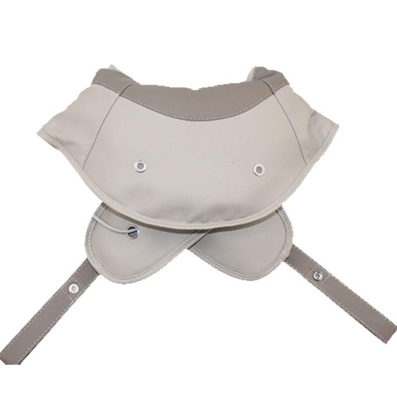 Shoulder Massage Device Cervical Vertebra Knocking Taping Massager Belt Infrared Heating Full Body Neck Relax Electronic for nec k shoulder and neck massage cape cervical massage device neck