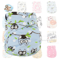 Factory Wholesale Newborn Diaper Reusable Baby Diapers Fralda 10 Pcs/Bag AIO Supersoft Printing Waterproof Cloth Diaper Covers