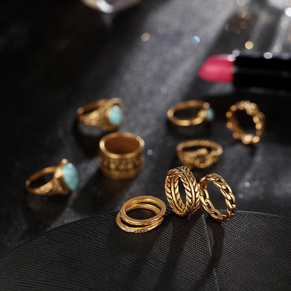 HTB10Le_RXXXXXcyXXXXq6xXFXXXy 10-Pieces Vintage Tibetan Turquoise Knuckle Ring Set For Women - 2 Colors