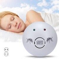 Eletrônica Ultra-sônica Repeller Mosquito Barata Insect Ratos Controle de Aranhas Rejeitar @ LS