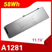 ApexWay 58Wh For Apple A1281 A1286 (2008 Version) For MacBook Pro 15 MB470 Mb471 MB772 MB772*/A MB772J/A