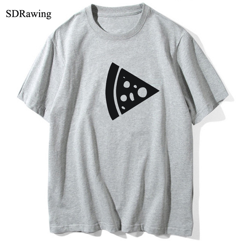 Pizza Letters Print Women tshirt Cotton Casual Funny t shirts For Lady Top Tee Hipster Drop Ship FA679 in T Shirts from Women 39 s Clothing