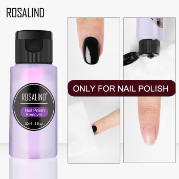 ROSALIND Remover Only For Nail Polish Remover Lint-Free Wipes Nail Clip Degreaser Art Tool For Manicure Nail Cleaner