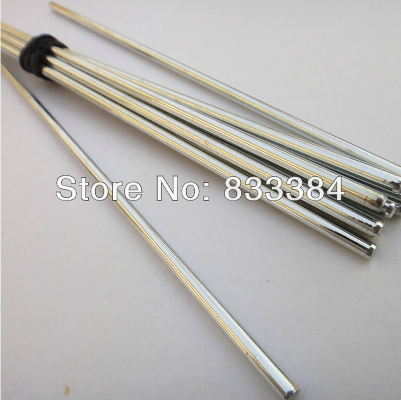 DIY axis 2MM diameter length 200mm/20 pieces Toys the axle iron bars stick drive rod shaft coupling connecting shaft image