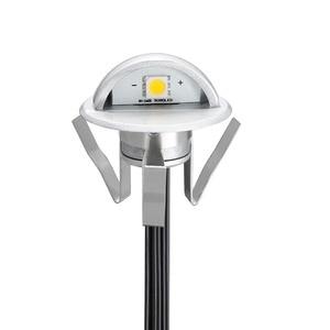 Image 2 - 6pcs Half moon Outdoor Led Underground Light Lighting for the Garden Patio Deck Park Path Recessed Floor Lamp Step Light