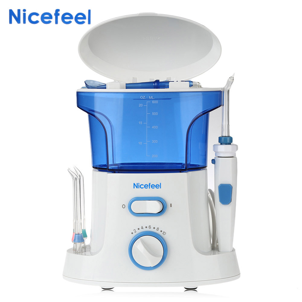 Nicefeel Portable Dental Flosser Water Pick Oral Care Teeth Cleaner Machine Electric Oral Irrigator Hygiene Water Jet Irrigators oral irrigator dental flosser hygiene pressure water flosser teeth cleaning whitening tools water pick cleanser oral gum care